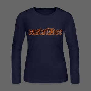 eastsiDer Women's Bella Long Sleeve Jersey Tee - Women's Long Sleeve Jersey T-Shirt