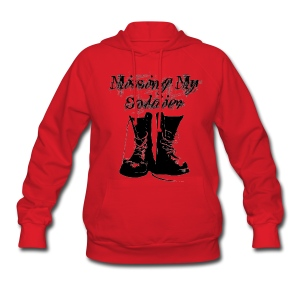 Missing my Soldier - Women's Hoodie
