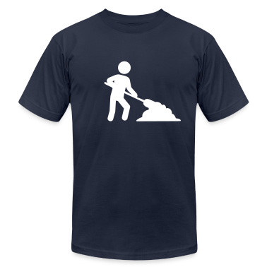 Navy Construction worker T-Shirts