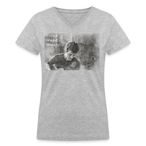 Tyler Ward Music Photo Women - Women's V-Neck T-Shirt