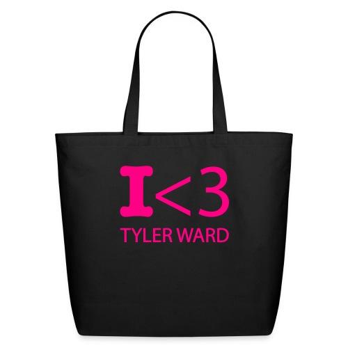 I heart Tyler Ward tote - Eco-Friendly Cotton Tote