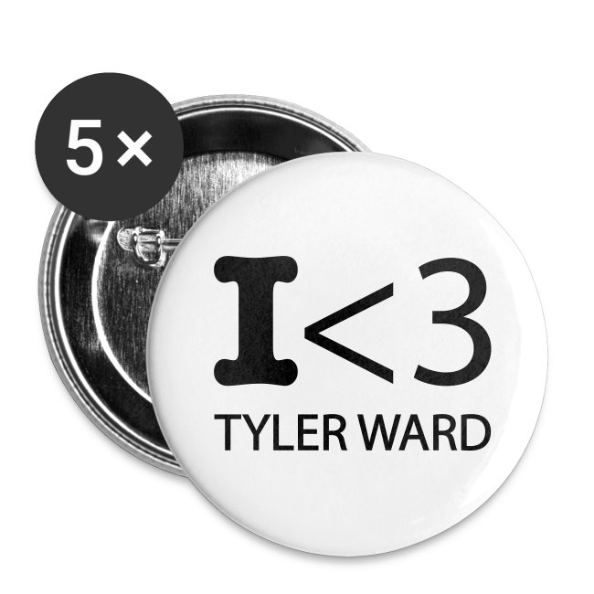 Tyler Ward Buttons