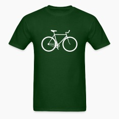 Forest green bicycle T-Shirts