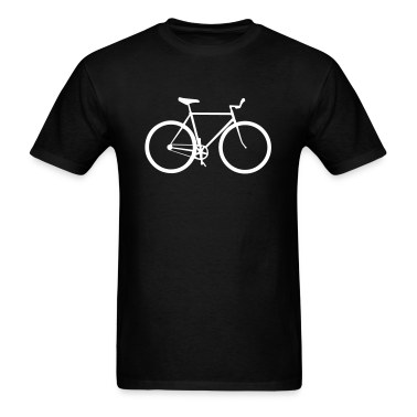 Black bicycle T-Shirts