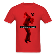 T-Shirts ~ Men's T-Shirt ~ CHERNOBYL CHILD DANCE RED