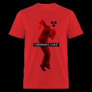 T-Shirts ~ Men's T-Shirt ~ CHERNOBYL CHILD DANCE RED