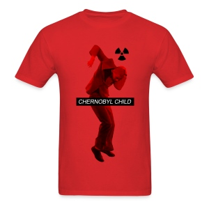 CHERNOBYL CHILD DANCE RED - Men's T-Shirt