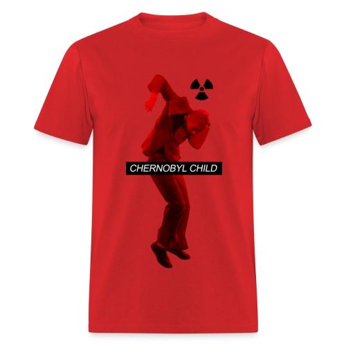 CHERNOBYL CHILD DANCE RED - Men's T-Shirt