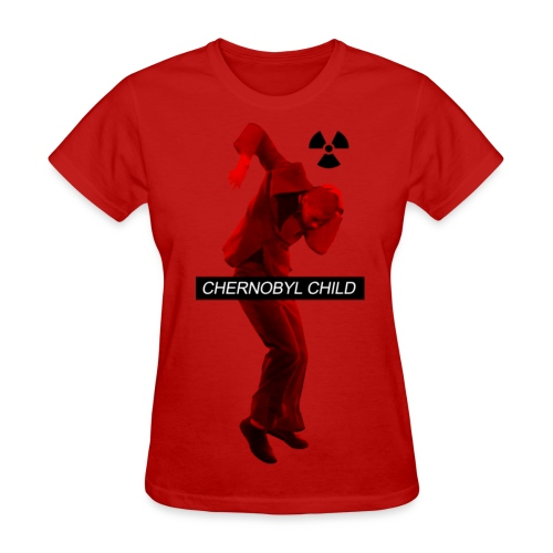 CHERNOBYL CHILD DANCE RED - Women's T-Shirt