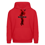 Hoodies ~ Men's Hoodie ~ CHERNOBYL CHILD DANCE RED