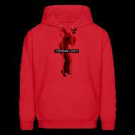 Hoodies ~ Men's Hoodie ~ CHERNOBYL CHILD DANCE RED