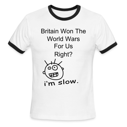 Britain - Men's Ringer T-Shirt