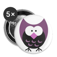 Buttons ~ Large Buttons ~ Old School Night Owl Button