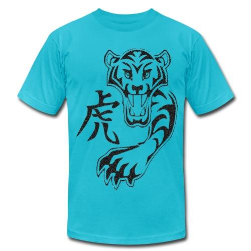 Kanji Tiger - Men's  Jersey T-Shirt