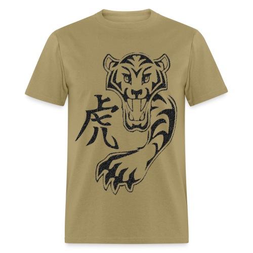 Kanji Tiger - Men's T-Shirt