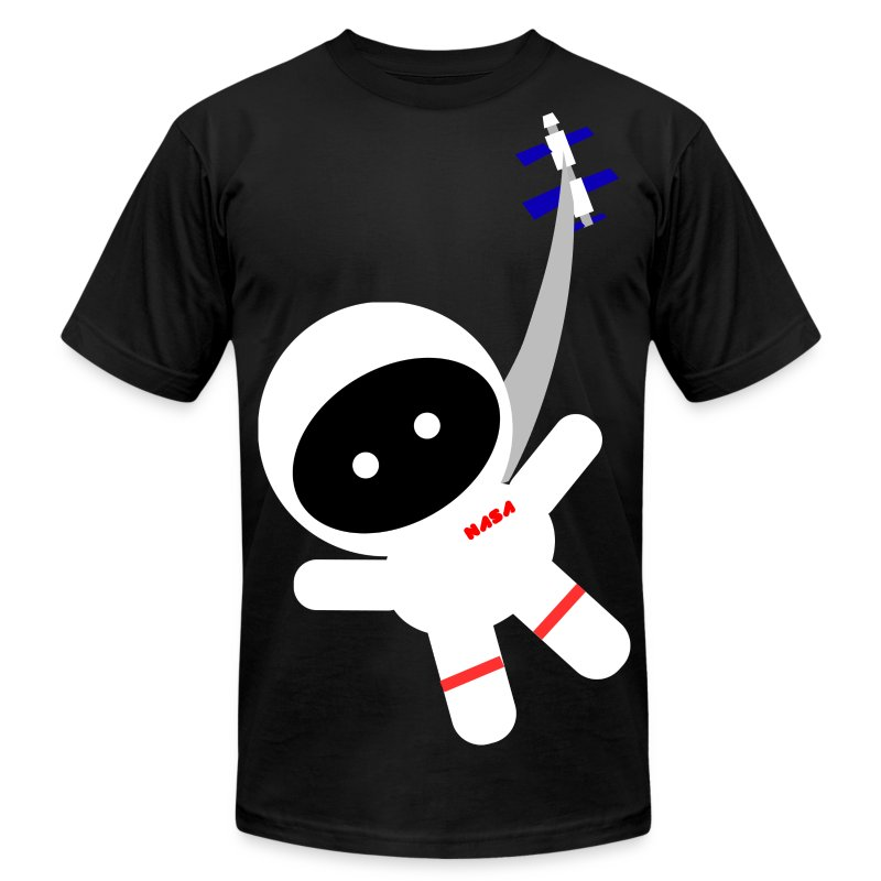 Space Walk - Men's Fine Jersey T-Shirt