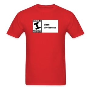 Blood Violence ESRB - Men's T-Shirt