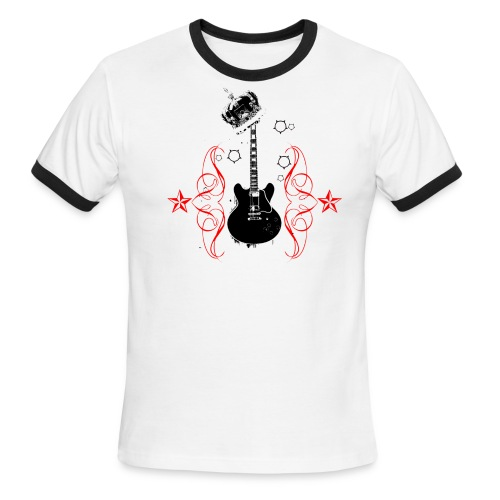guitar shirt - Men's Ringer T-Shirt