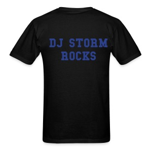 DJ Storm Rocks Tee-Shirt - Men's T-Shirt