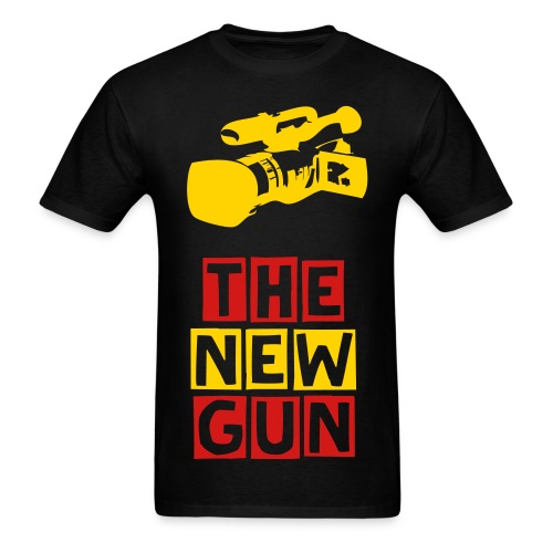 The Camera is the New Gun - Men's T-Shirt