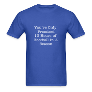 T-Shirts ~ Men's T-Shirt ~ Stay For The WHOLE Game