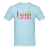 T-Shirts ~ Men's T-Shirt ~ LEONARD'S PERIODIC TABLE T-Shirt