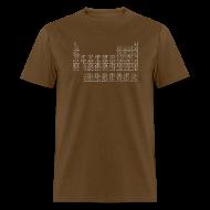 T-Shirts ~ Men's T-Shirt ~ LEONARD'S PERIODIC TABLE T-Shirt