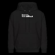 Hoodies ~ Men's Hoodie ~ Twisted Tools Simple Logo - Hoodie