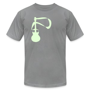 ELECTRIC GUITAR - Men's T-Shirt by American Apparel