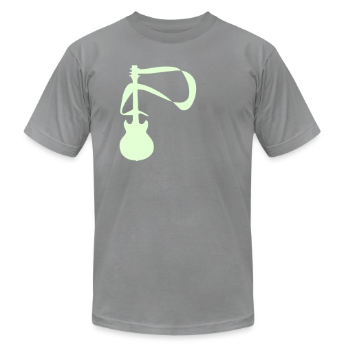 ELECTRIC GUITAR - Men's Fine Jersey T-Shirt
