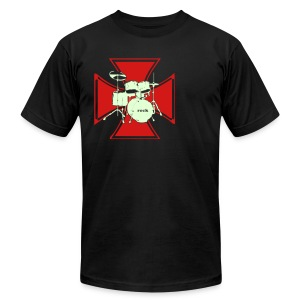 IRONCROSS - Men's T-Shirt by American Apparel