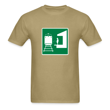 traffic train t-shirt