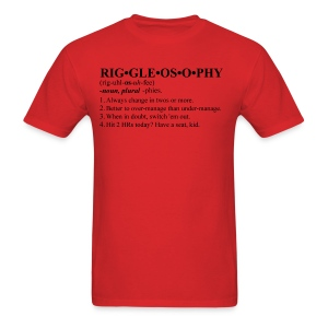 Riggleosophy - Men's T-Shirt