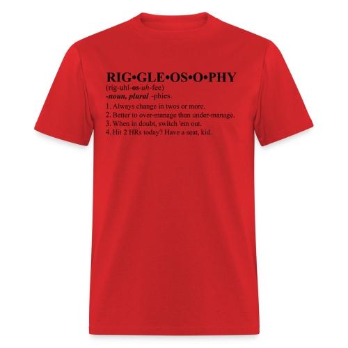 Riggleosophy - Men's T-Shirt