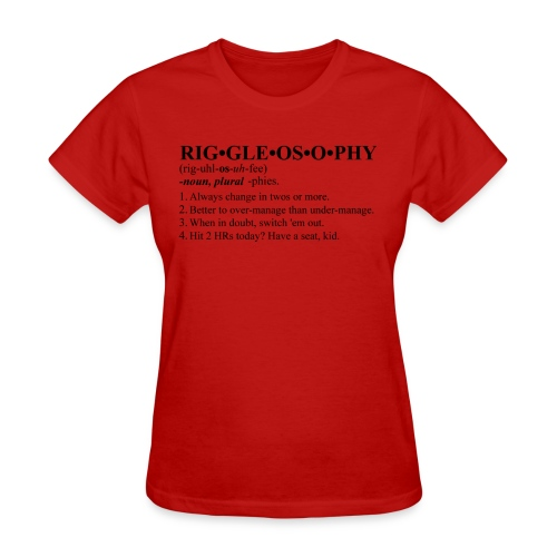 Riggleosophy - Women's T-Shirt