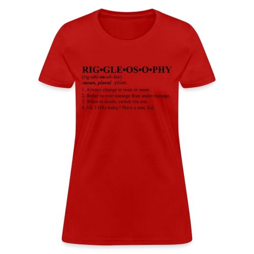 Riggleosophy - Women's T-Shirt
