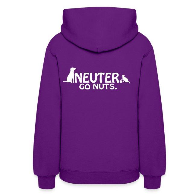 Neuter. Go Nuts - Womens Hoodie