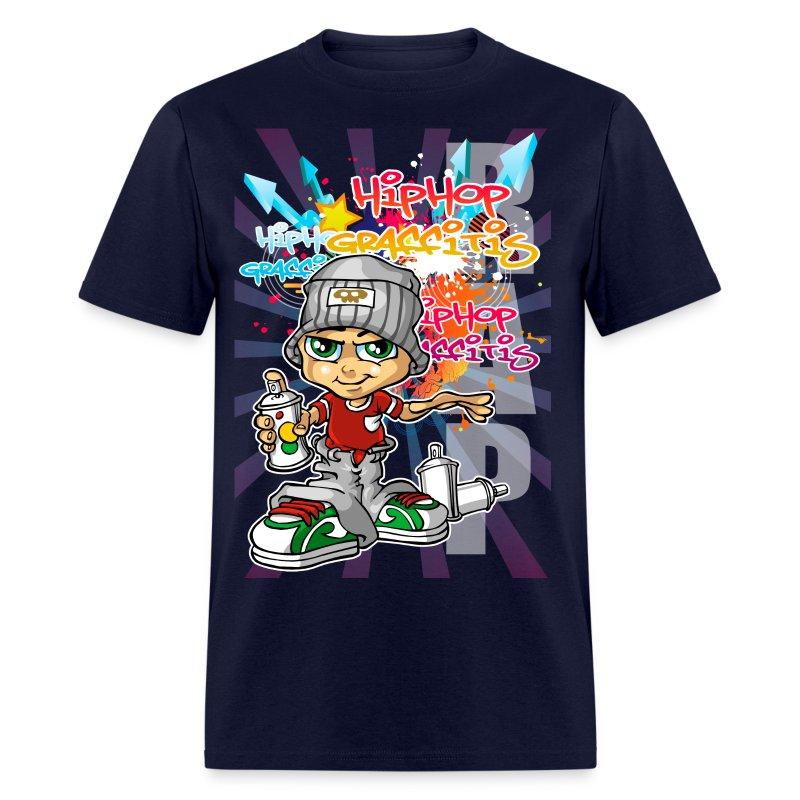 Graffiti Boy Background T Shirt Spreadshirt