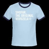 T-Shirts ~ Men's Ringer T-Shirt ~ Shofar - Magen David