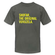 T-Shirts ~ Men's T-Shirt by American Apparel ~ Shofar - Vuvuzela