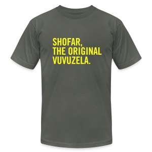 Shofar - Vuvuzela - Men's T-Shirt by American Apparel