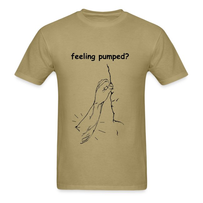 Climbing T-shirt - Feeling Pumped