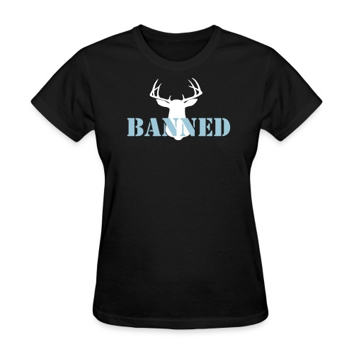 Banned Deer Head Women's T-Shirt - Women's T-Shirt