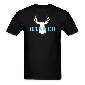 Banned Deer Head Men's T-Shirt - Men's T-Shirt