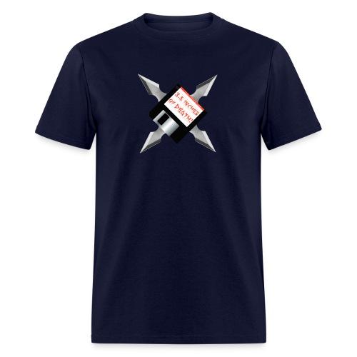 Floppy Disk Ninja Star - Men's T-Shirt