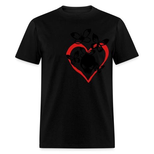 butterfly skull - Men's T-Shirt