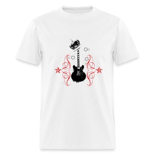 king of rock - Men's T-Shirt