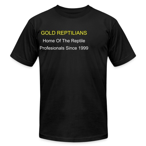Gold Reptilians 2006 Hunters - Men's Fine Jersey T-Shirt