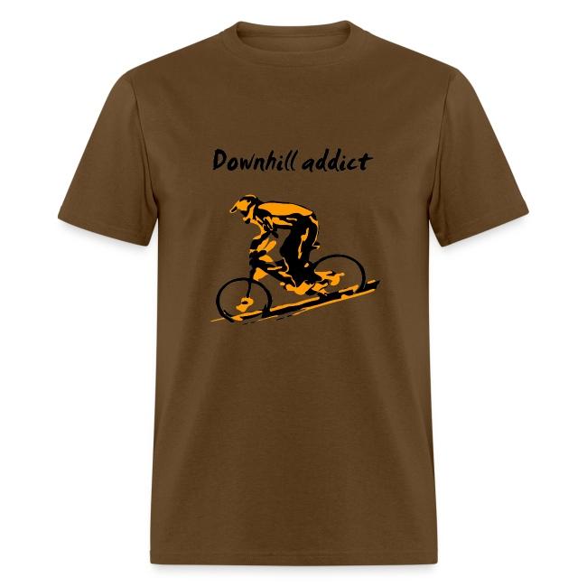 Mountain Bike Downhill T-shirt - Downhill Addict