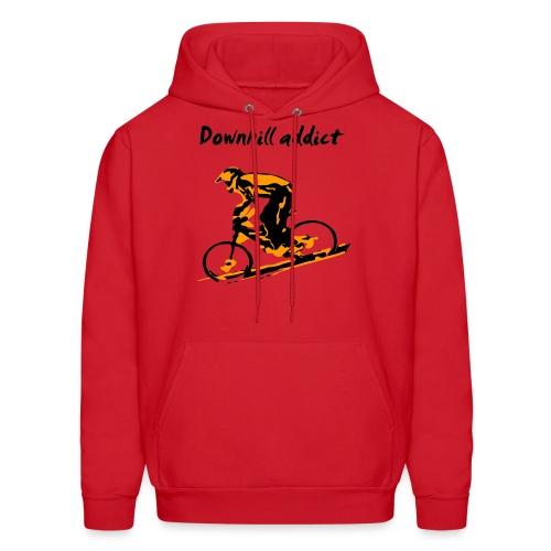 Mountain Bike Downhill Hoodie - Downhill Addict - Men's Hoodie